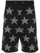 Guild Prime Star Print Bermuda Shorts - Black
