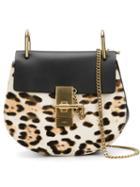 Chloe 'drew' Leopard Shoulder Bag