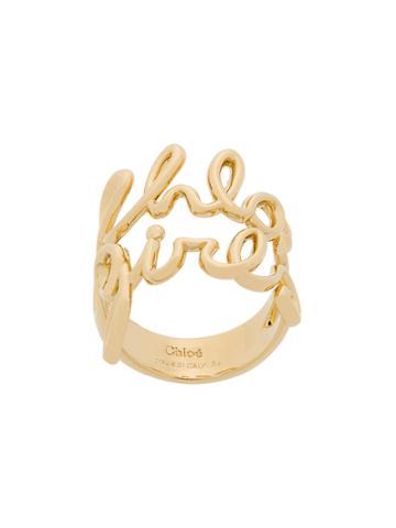 Chloé Chloé Girl Ring - Metallic
