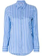 Neil Barrett Striped Shirt - Blue