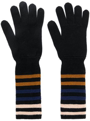Sonia Rykiel Knit Gloves - Black