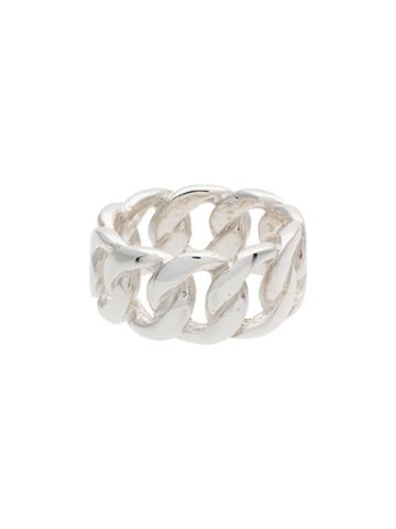 Hatton Labs Cuban Link Ring - Silver