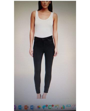 L'agence L'agence - Margot Coated Skinny Jeans - Unavailable
