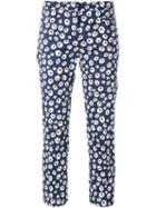 Incotex Floral Print Capri Pants