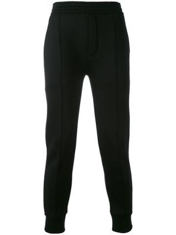 Neil Barrett - Jogger Sweatpants - Men - Spandex/elastane/viscose - M, Black, Spandex/elastane/viscose