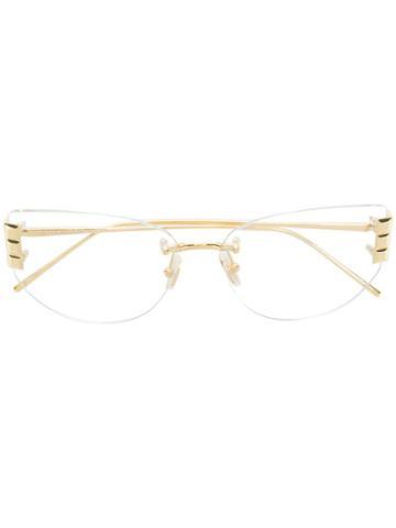 Boucheron Square Glasses - Metallic