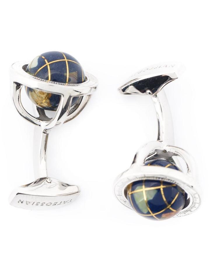 Tateossian 'globe Cage' Cufflinks