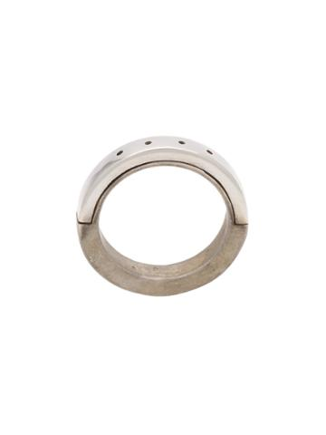 Parts Of Four Dapa Ring, Adult Unisex, Size: 6, Metallic