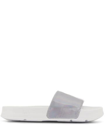 Fila Palm Beach Logo Slides - White