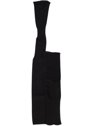 Rick Owens Evening Sleeve Holsters - Black