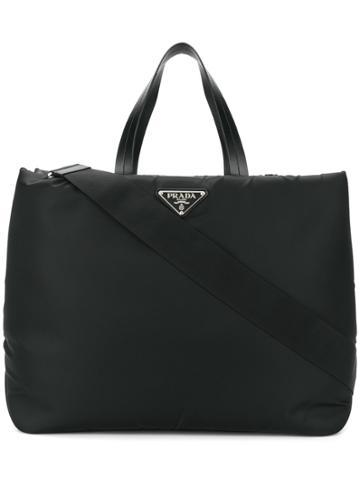 Prada Medium Shopper Bag - Black