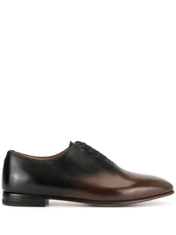 Francesco Russo Oxford Ombre Shoes - Brown