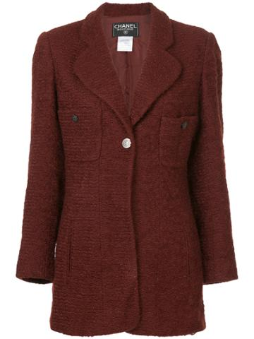 Chanel Vintage Fitted Blazer - Brown