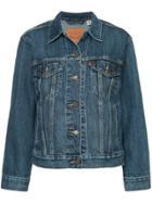 Levi's Ex-bf Trucker Jacket - Blue