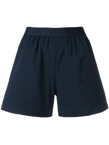 Monse Elasticated Short Shorts - Blue