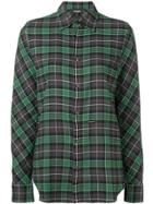 Dsquared2 Checked Longsleeved Shirt - Green