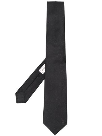 Alexander Mcqueen Knitted Classic Tie - Black