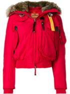 Parajumpers Hooded Puffer Jacket - Red