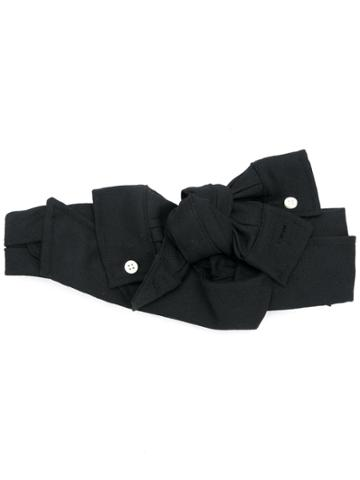 Ca4la Bow-tied Headband - Black