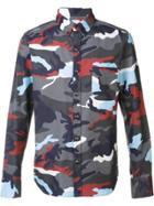 Moncler Camouflage Print Shirt - Multicolour