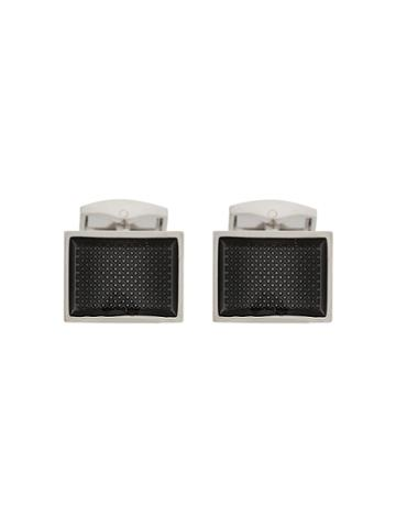 Tateossian Patterned Cufflinks - Metallic