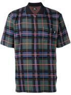 Stussy Check Patterned Polo Shirt - Multicolour