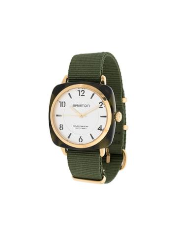 Briston Watches Clubmaster Watch - Green