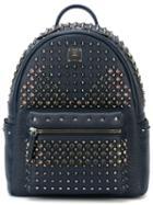 Mcm Studded 'stark' Backpack