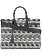 Large 'sac De Jour' Tote, Men's, Black, Leather, Saint Laurent