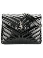 Saint Laurent Medium Loulou Chain Bag - Black