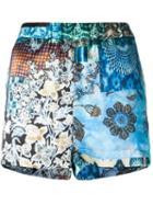 Ermanno Gallamini Floral Print Shorts