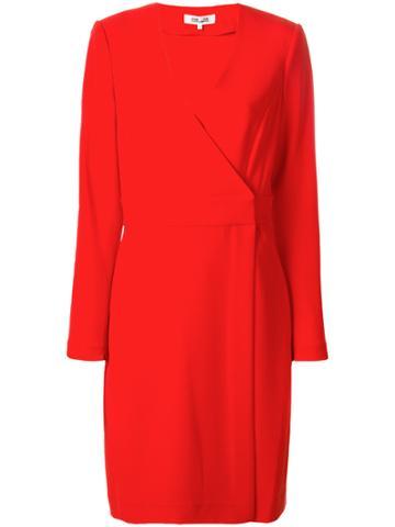 Dvf Diane Von Furstenberg Tailored Wrap Dress