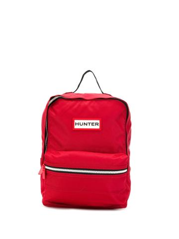 Hunter Small Logo Backpack - Red