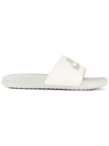 Nike Benassi Just Do It Slides - Grey