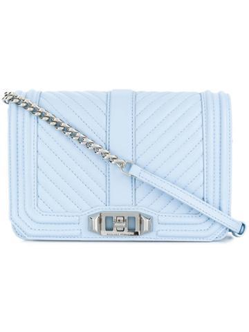 Rebecca Minkoff Small Love Crossbody Bag - Blue