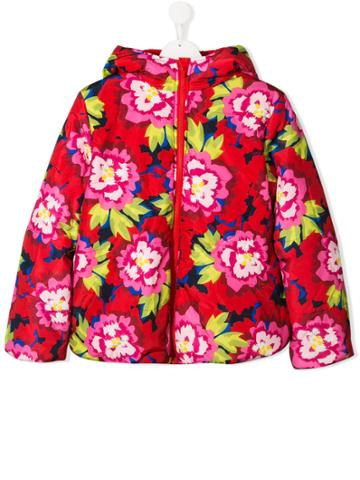 Kenzo Kids Teen Reversible Padded Jacket - Red