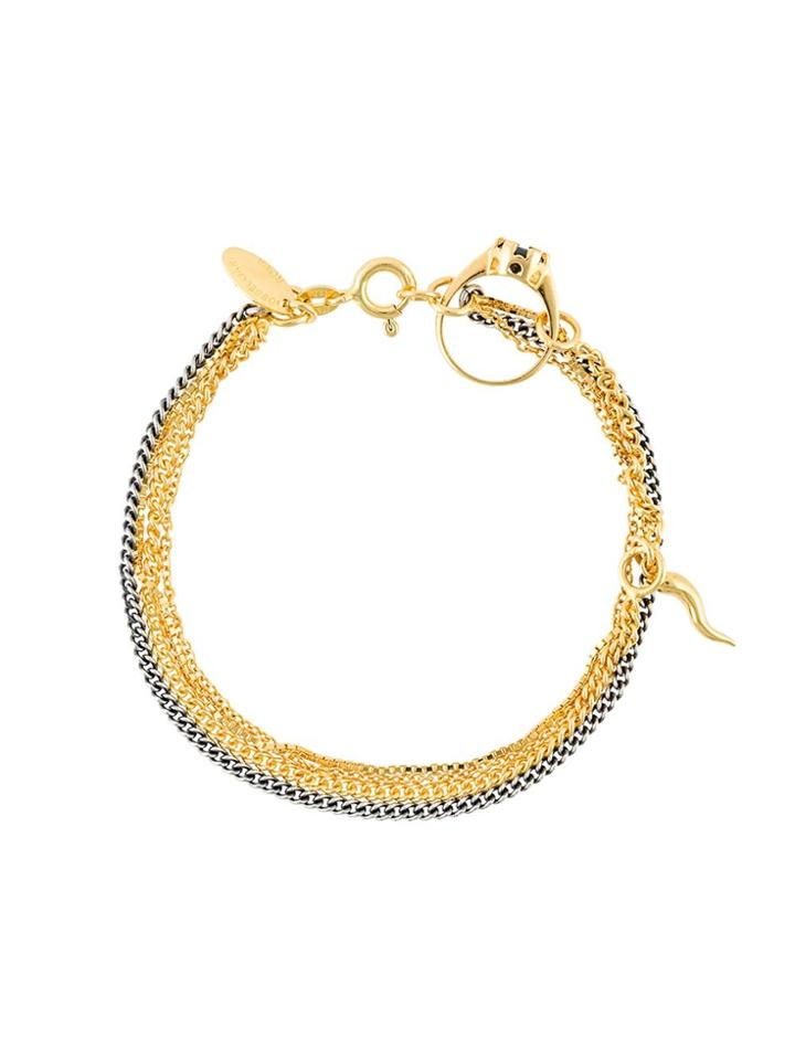 Iosselliani 'silver Heritage' Ring Bracelet - Metallic