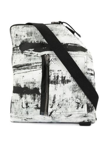 Tobias Birk Nielsen Denim Acid-wash Effect Messenger - White