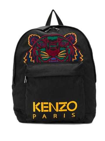 Kenzo Embroidered Logo Backpack - 99c Noir