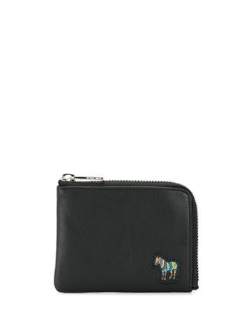Ps Paul Smith Zebra Patch Wallet - Black