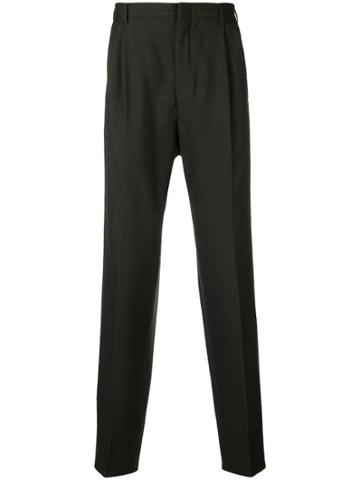Romeo Gigli Vintage Tapered Tailored Trousers - Grey