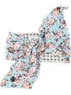 Maison Michel Floral Print Hair-tie - Multicolour