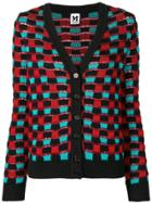 M Missoni Square Pattern Cardigan - Blue