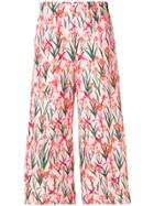 Vivetta Arturo Printed Trousers - Pink & Purple