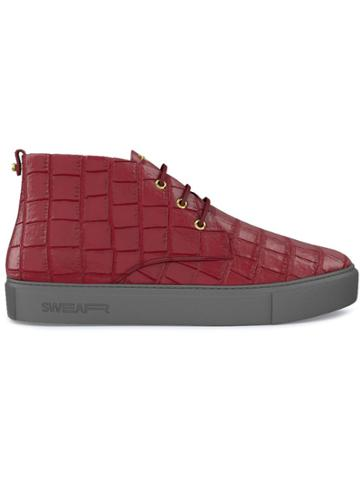 Swear Maltby Mid-top Sneakers - Red