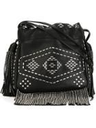 Saint Laurent Studded Bucket Bag