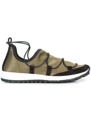 Jimmy Choo Andrea Sneakers - Green