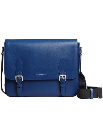 Burberry Medium London Messenger Bag - Blue