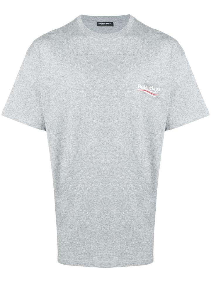 Balenciaga S/s Tshirt - Grey