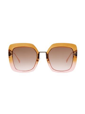 Fendi Tropical Shine Sunglasses - Brown